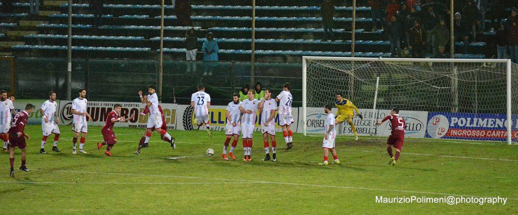 casertana20 il gol di Bianchimano