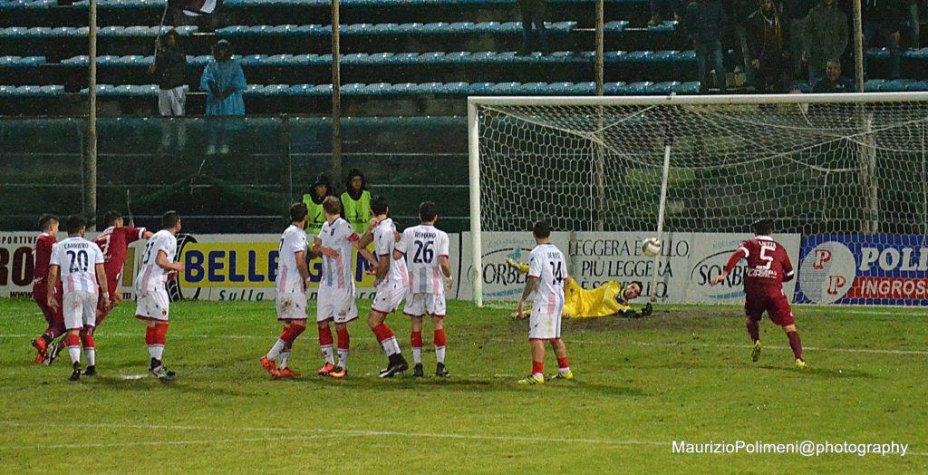 casertana21 il gol di Bianchimano 2
