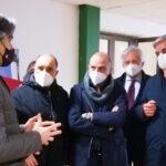 Reggio Calabria: sopralluogo di Falcomatà al Cedir per un nuovo centro vaccinale